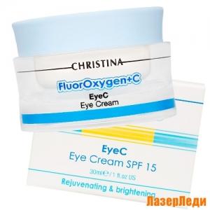 Крем для кожи вокруг глаз SPF 15 FluorOxygen+C CHRISTINA
