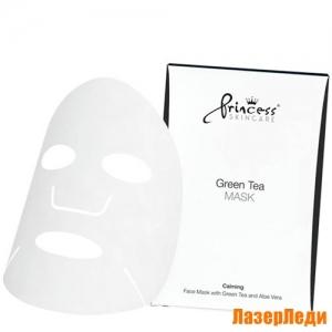 Маска для Лица на Нетканой Основе с Экстрактом Зелёного Чая Принцесс / Face Mask with Green Tea Princess