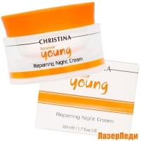 Ночной Восстанавливающий Крем Forever Young CHRISTINA