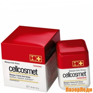 Anti-Stress Mask Cream Cellcosmet, Крем-Маска Анти-Стресс Cellcosmet