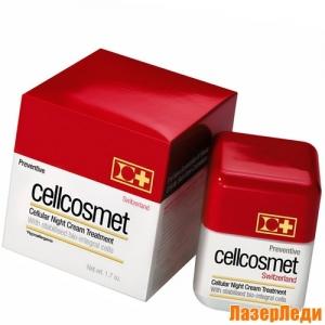 Preventive Night Cream Cellcosmet, Защитный Ночной Клеточный Крем СЕЛКОСМЕТ