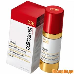 Sensitive Night Cream Cellcosmet, Ночной Клеточный Крем для Чувствительной Кожи Cellcosmet