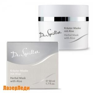 Поросуживающая травяная маска с алоэ Доктор Шпиллер - Herbal Mask with Aloe Dr.Spiller