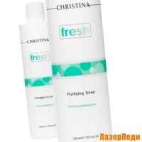 Очищающий Тоник для Жирной кожи и Комбинированной кожи Fresh CHRISTINA