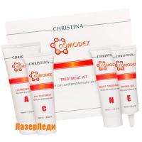 Набор для коррекции проблемной кожи (4 препарата) Comodex CHRISTINA